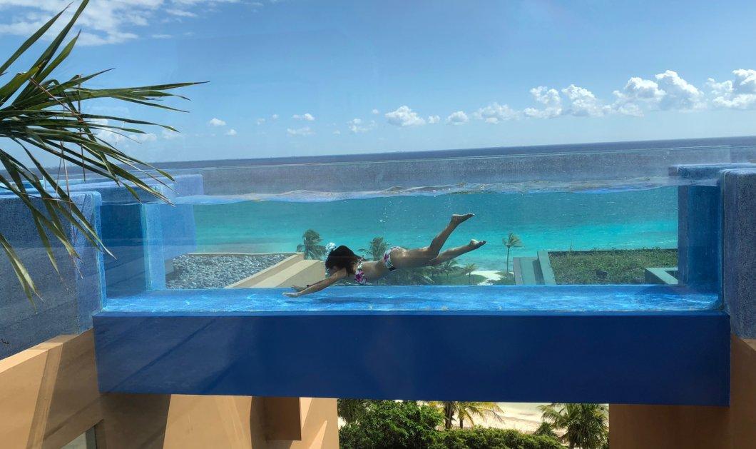 Μία εξωφρενικά χλιδάτη πισίνα στο Μεξικό – Κολυμπάτε στον... αέρα! (βίντεο)  - Κυρίως Φωτογραφία - Gallery - Video