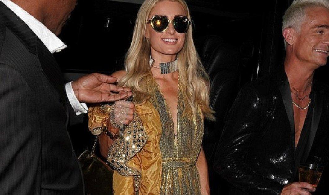 Πιο χρυσό δεν έχει: Η Paris Hilton ντυμένη ολόχρυση στο πάρτι για το νέο της τραγούδι - Και τα γυαλιά χρυσά! (φώτο-βίντεο) - Κυρίως Φωτογραφία - Gallery - Video