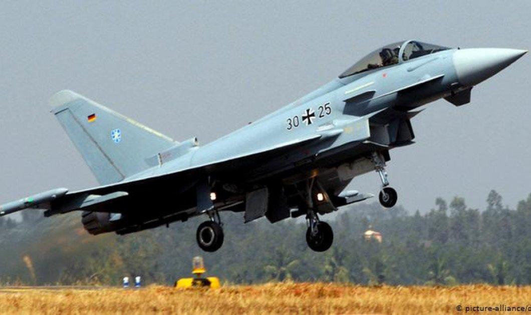 Γερμανία: Δύο μαχητικά Eurofighter συνετρίβησαν στον αέρα - Σώος ο ένας πιλότος - Νεκρός ο δεύτερος (φώτο-βίντεο) - Κυρίως Φωτογραφία - Gallery - Video