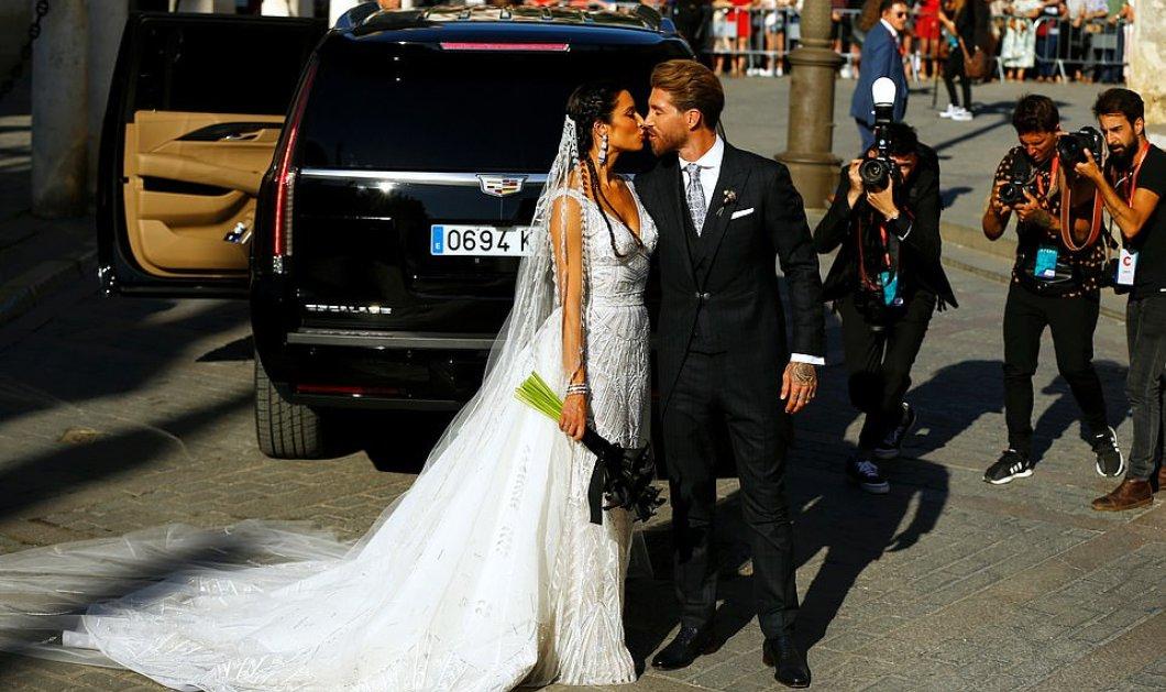 Ο γάμος της χρονιάς: Ο νεαρός ποδοσφαιριστής Σέρχιο Ράμος με την 41χρονη μητέρα των 3 παιδιών τους - Και οι Μπέκαμ ήταν εκεί (φώτο-βίντεο) - Κυρίως Φωτογραφία - Gallery - Video