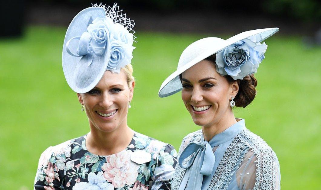 Οι πριγκίπισσες Κέιτ, Ευγενία, Ζάρα & οι βασίλισσες Ελισάβετ & Μάξιμα έβαλαν τα καλά τους & πήγαν Άσκοτ με υπερμεγέθη καπέλα γεμάτα λουλούδια (φώτο-βίντεο) - Κυρίως Φωτογραφία - Gallery - Video