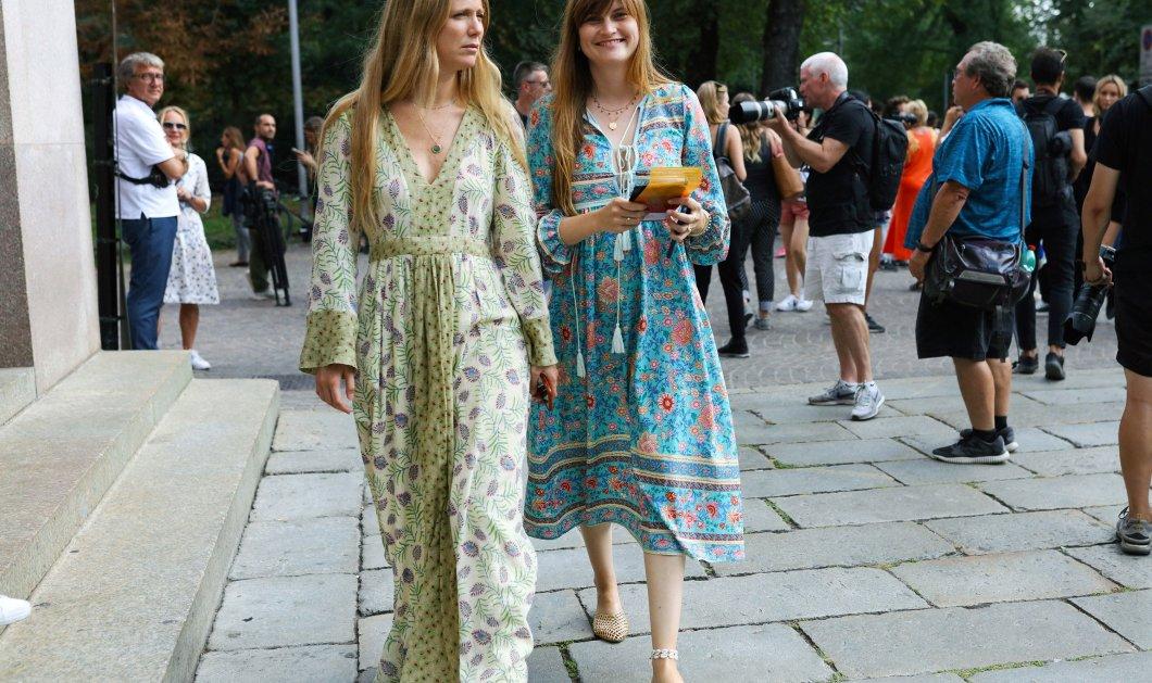 """Μόνο για """"βασίλισσες"""" του Street Style: Τα ωραιότερα φορέματα & σανδάλια για να κλέψετε την παράσταση (φώτο) - Κυρίως Φωτογραφία - Gallery - Video"""