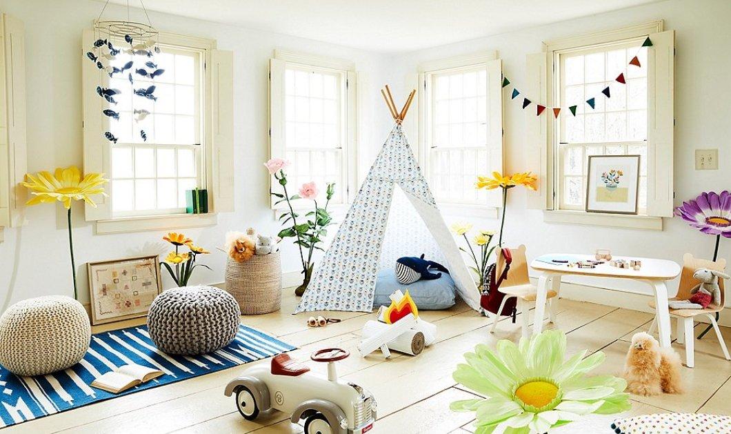 Έχετε παιδιά; - Αυτά τα 24 playrooms θα σας λύσουν τα χέρια - Πως θα απασχολήσετε τα μικρά σας! - Κυρίως Φωτογραφία - Gallery - Video