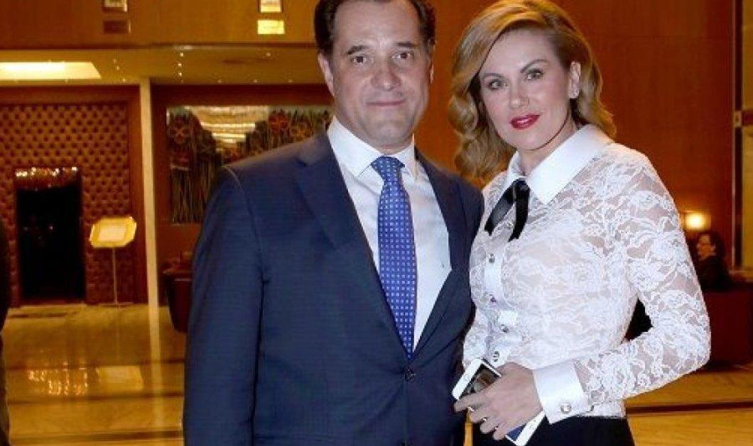 Πως ευχαρίστησε ο Άδωνις Γεωργιάδης την Ευγενία Μανωλίδου για την 10η επέτειο του γάμου τους (φωτό) - Κυρίως Φωτογραφία - Gallery - Video