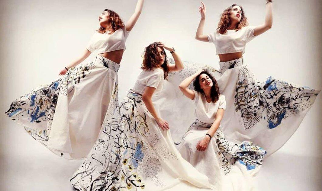 Made in Greece το Kukuli της Έφης Παπαϊωάννου: Ρούχα από μετάξι ή βαμβάκι ζωγραφισμένα στο χέρι - Μοναδικά έργα τέχνης - Κυρίως Φωτογραφία - Gallery - Video