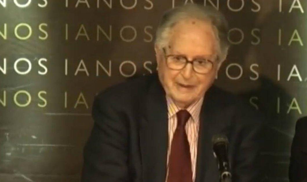 Πέθανε ο δημοσιογράφος Νίκος Λιναρδάτος - Πρώην υφυπουργός & στενός συνεργάτης του Κων. Μητσοτάκη  - Κυρίως Φωτογραφία - Gallery - Video