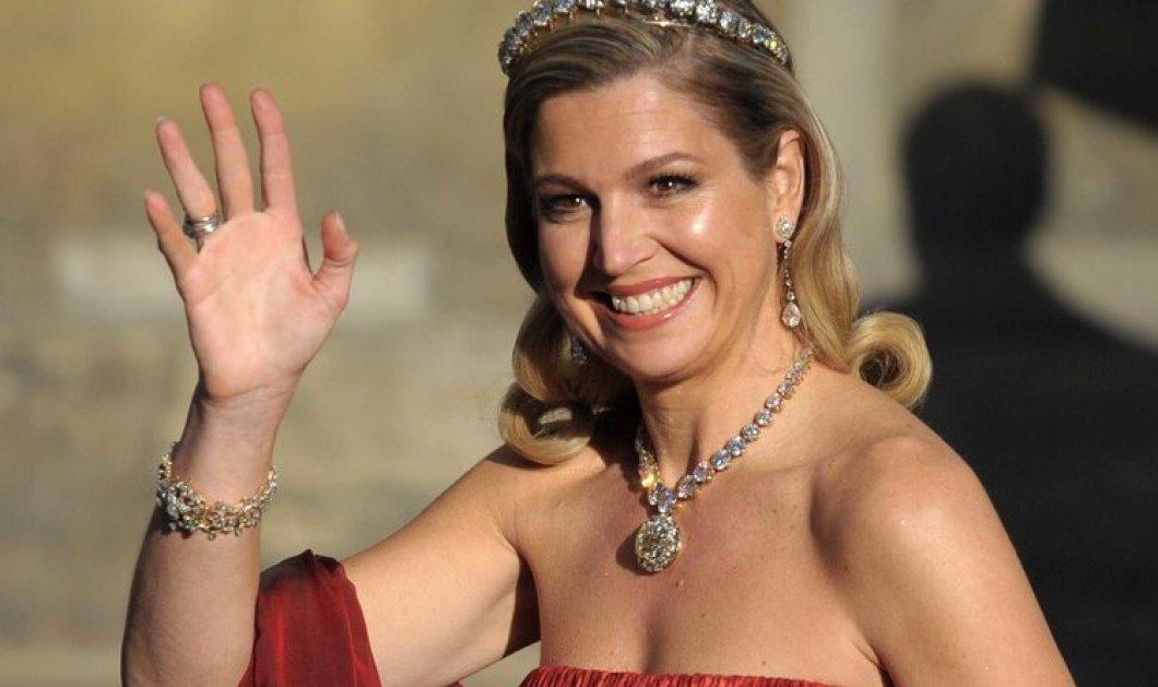 Πως πήγε σινεμά η Βασίλισσα Μαξίμα της Ολλανδίας; Με παντελόνι που της πάει πολύ & χρυσαφί one shoulder μπλούζα (φωτό) - Κυρίως Φωτογραφία - Gallery - Video