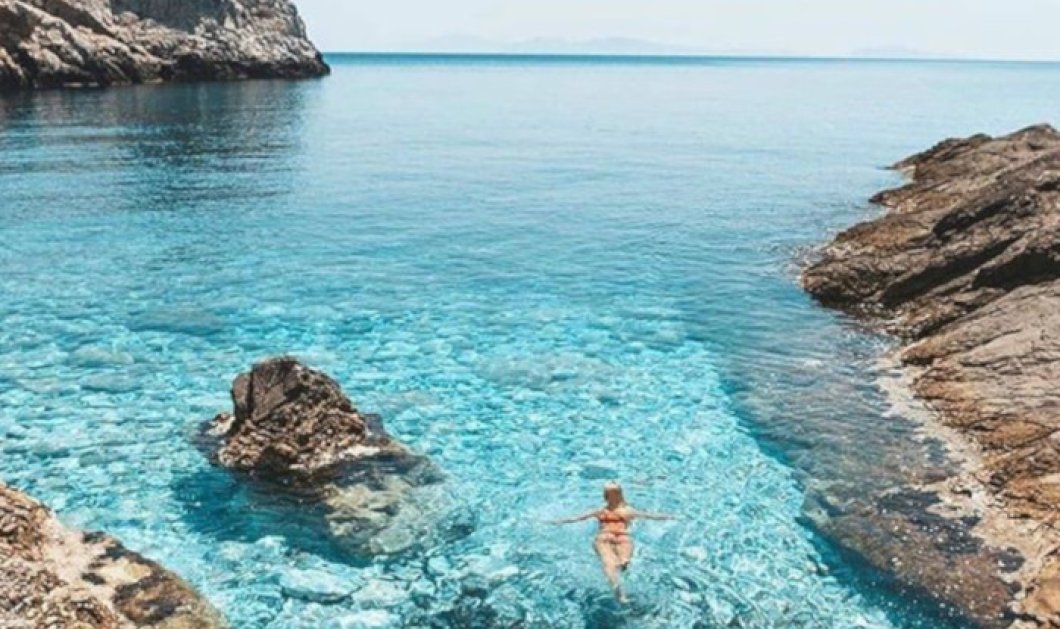 Ίος: Ένας επίγειος παράδεισος με υπέροχα κρυστάλλινα νερά - Απίθανη η φωτογραφία της ημέρας - Κυρίως Φωτογραφία - Gallery - Video