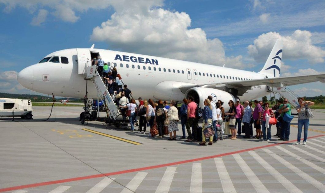 AEGEAN - Βασικά Μεγέθη πρώτου τριμήνου 2019 : Αύξηση 7% της επιβατικής κίνησης - Άνοδος 4% στον κύκλο εργασιών - Κυρίως Φωτογραφία - Gallery - Video