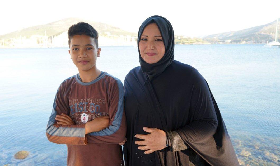 Ο 13χρονος Παλαιστίνιος Sabri διδάσκει ελληνικά μέσω facebook - Από τη Λέρο με αγάπη (φώτο) - Κυρίως Φωτογραφία - Gallery - Video