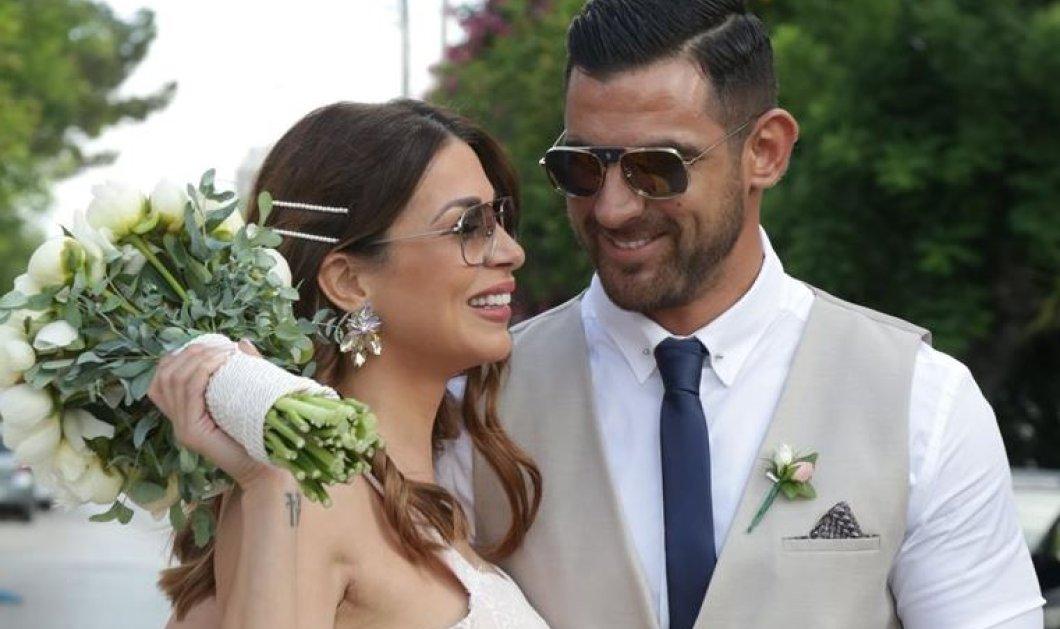 Παντρεύτηκαν η Ελένη Χατζίδου και ο Ετεοκλής Παύλου λίγο πριν αποκτήσουν το πρώτο τους παιδάκι (φωτό)  - Κυρίως Φωτογραφία - Gallery - Video