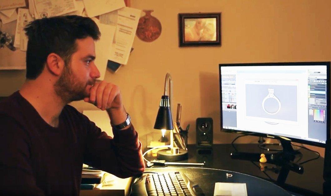 Ανδρέας Μαθιός: Ο πρώτος στην Ελλάδα κατασκευαστής custom made μονόπετρων - Όλο το success story για το δαχτυλίδι της ζωής σας - Κυρίως Φωτογραφία - Gallery - Video