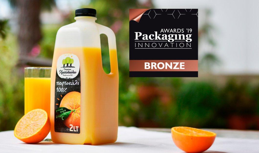 Made in Greece η Οικογένεια Χριστοδούλου & ο χυμός πορτοκάλι 2 λίτρων: Σπουδαία διάκριση στα Packaging Innovation Awards 2019 - Κυρίως Φωτογραφία - Gallery - Video