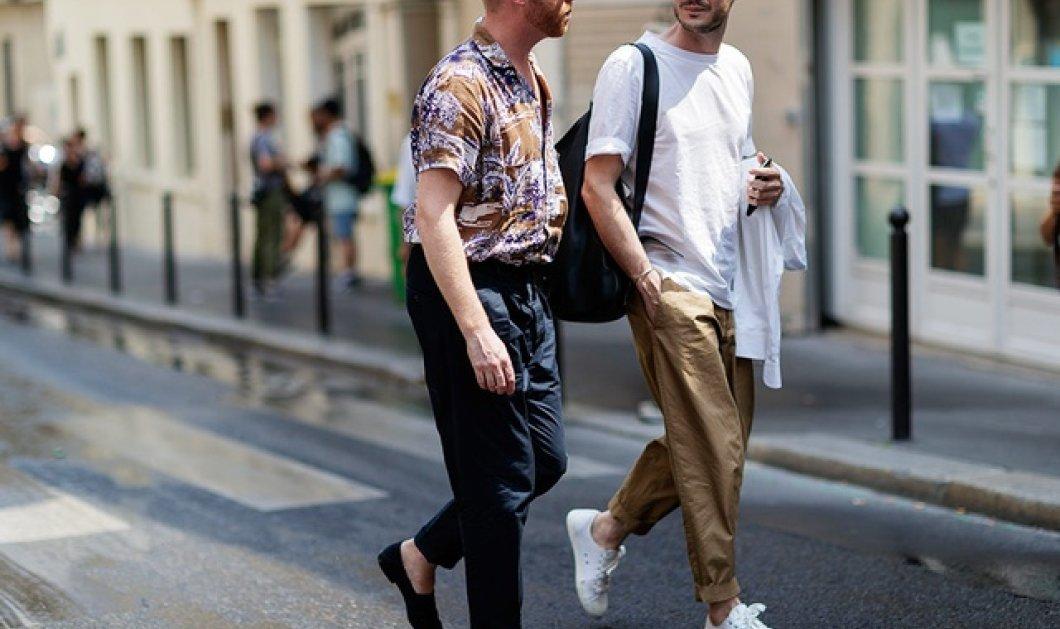 Ανδρική Μόδα: Tα καλύτερα Street Style look από την Εβδομάδα Μόδας στο Παρίσι (φωτό) - Κυρίως Φωτογραφία - Gallery - Video