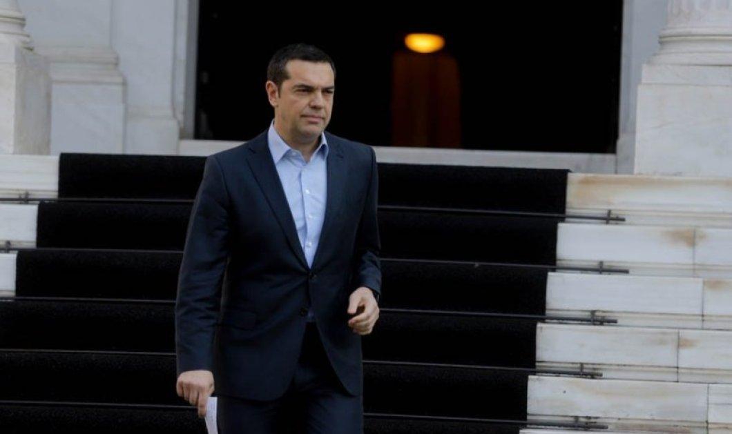 """Αυστηρό μήνυμα Τσίπρα στην Τουρκία: """"Όποιος παραβιάσει τα κυριαρχικά δικαιώματα Ελλάδας – Κύπρου θα έχει συνέπειες"""" (βίντεο) - Κυρίως Φωτογραφία - Gallery - Video"""