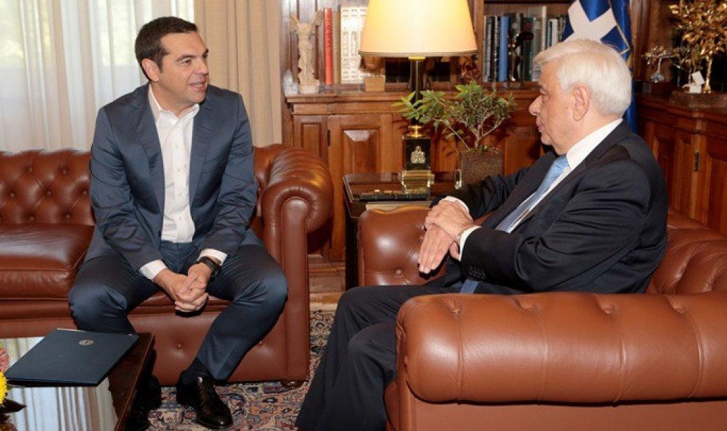 Παραιτήθηκε η κυβέρνηση - Εκλογές στις 7 Ιουλίου ζήτησε ο Αλέξης Τσίπρας από τον Προκόπη Παυλόπουλο (φώτο-βίντεο) - Κυρίως Φωτογραφία - Gallery - Video