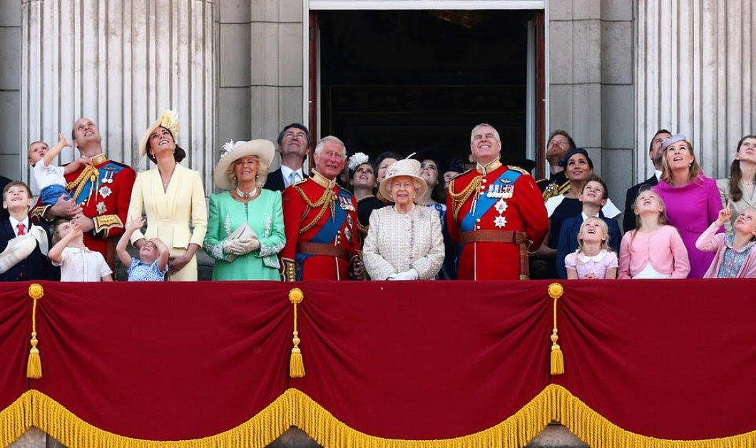 Πρώτη επίσημη εμφάνιση της Μέγκαν Μαρκλ μετά την γένησση του Άρτσι για τα γενέθλια της Βασίλισσας - Την παράσταση όμως έκλεψε ο.... μικρός Λούις  - Κυρίως Φωτογραφία - Gallery - Video