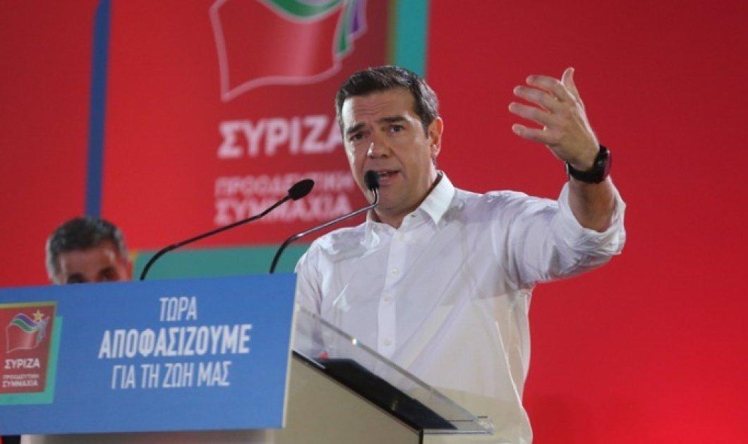 """Τσίπρας: """"Ήρθε η ώρα να τα αλλάξουμε όλα'' - Οι προγραμματικοί στόχοι του ΣΥΡΙΖΑ τα θεμέλια της Ελλάδας της νέας εποχής - Κυρίως Φωτογραφία - Gallery - Video"""