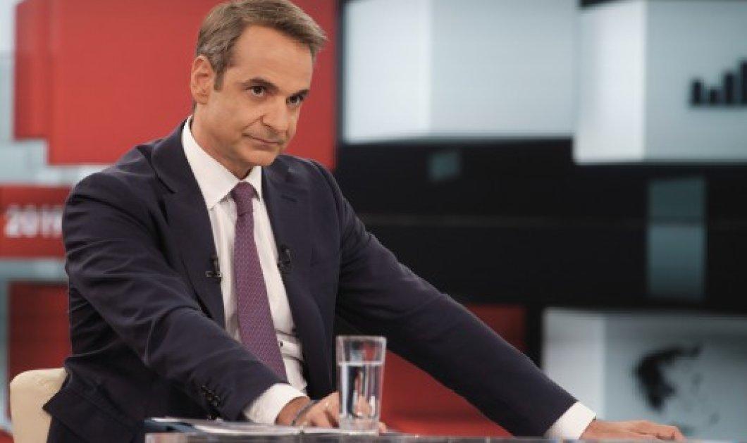 Ο Μητσοτάκης στον Alpha: ''Αν δεν μπορεί να σχηματιστεί κυβέρνηση θα πάμε σε εκλογές με απλή αναλογική΄΄ - Κυρίως Φωτογραφία - Gallery - Video