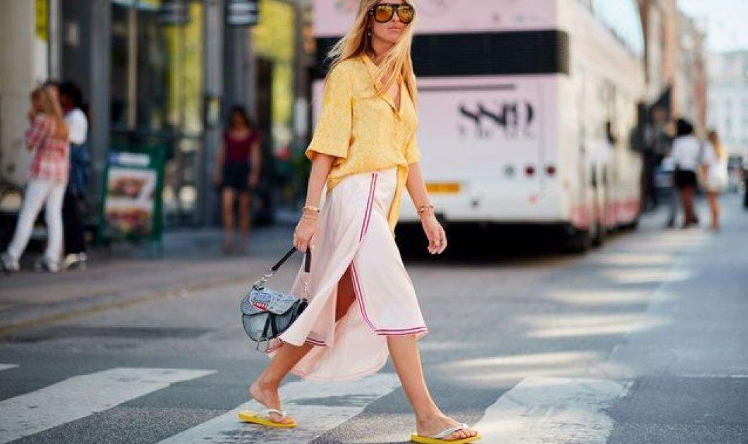 Σας αποδεικνύουμε ότι οι πλαστικές σαγιονάρες είναι το trendy παπούτσι του καλοκαιριού (φώτο) - Κυρίως Φωτογραφία - Gallery - Video