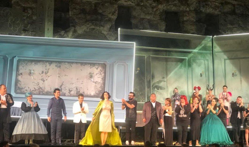 Αποθέωση για την Τραβιάτα στο Ηρώδειο - Πρωταγωνίστρια το πιο hot όνομα της όπερας - Εξαιρετικοί Ρήγος - Καρυτινός (φώτο)  - Κυρίως Φωτογραφία - Gallery - Video