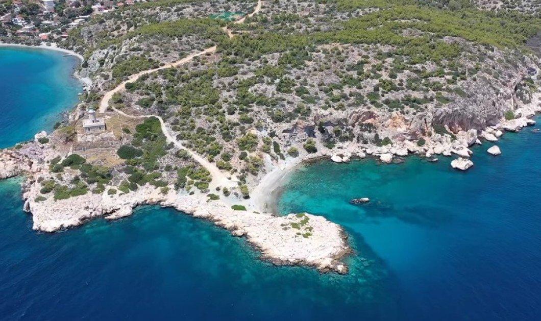 Βίντεο ημέρας: Κόγχη, η κρυφή νοτιότερη παραλία της Σαλαμίνας & ο Φάρος - ταξιδευτής στο Αιγαίο - Κυρίως Φωτογραφία - Gallery - Video