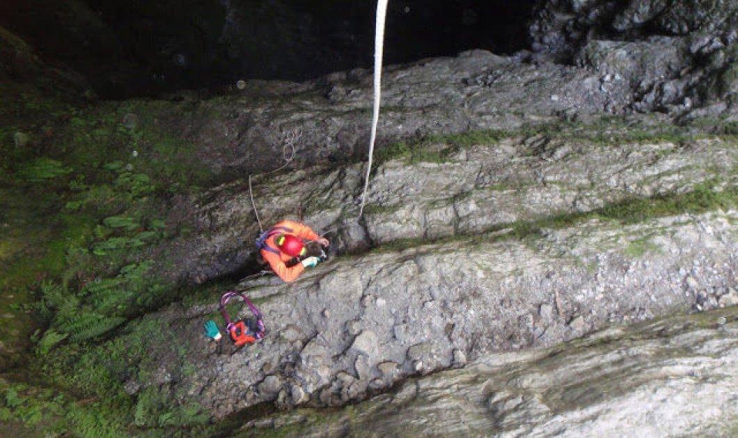 Μπέσντενες: Το εντυπωσιακό σπηλαιοβάραθρο του Αμαράντου – Έχει βάθος 268 μέτρα & απλά σου κόβει την ανάσα - Κυρίως Φωτογραφία - Gallery - Video