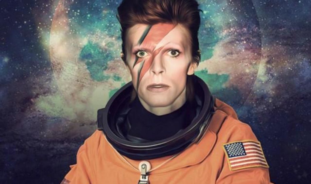 """Οι απανταχού θαυμαστές του David Bowie τον θυμούνται με το επετειακό βίντεο για τα 50 χρόνια του  """"Space Oddity""""  - Κυρίως Φωτογραφία - Gallery - Video"""