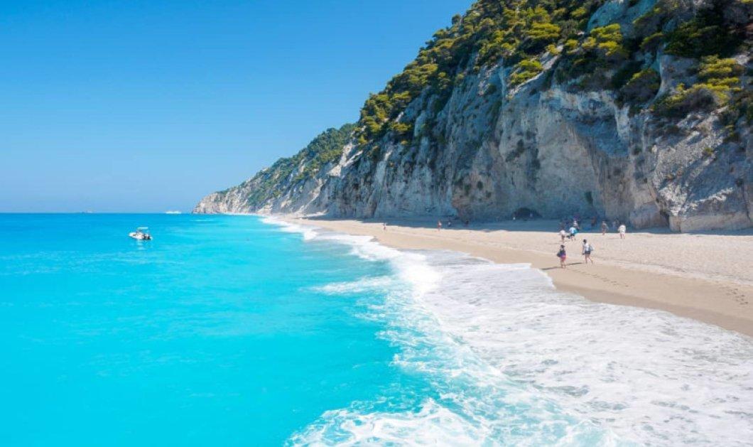 Λευκάδα: Απέραντο Ιόνιο, καταγάλανα νερά σε μαγευτικό τοπίο - Απίθανη η φωτογραφία της ημέρας - Κυρίως Φωτογραφία - Gallery - Video