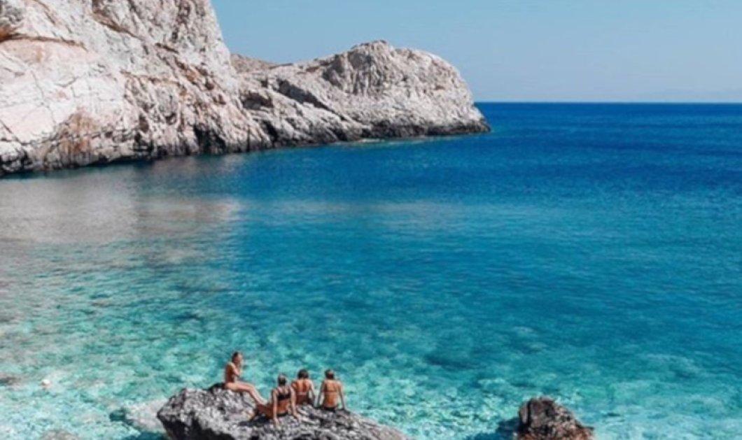 Ίος: Μαγικές στιγμές χαλάρωσης στο απόλυτο μπλε του Αιγαίου - Καταπληκτική η φωτογραφία της ημέρας - Κυρίως Φωτογραφία - Gallery - Video