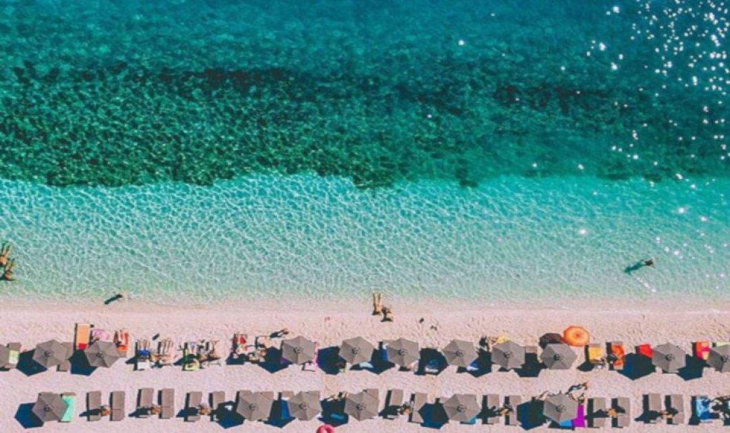 Αντίσαμος: Μία από τις ομορφότερες παραλίες της Κεφαλονιάς σε μία καταπληκτική φωτογραφική λήψη - Κυρίως Φωτογραφία - Gallery - Video