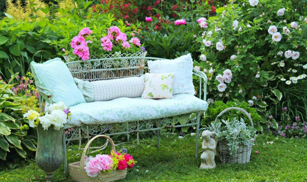 Το καλοκαίρι είναι εδώ και ο κήπος μας χρειάζεται αλλαγή - Υπέροχες ιδέες για έναν ονειρικό χώρο - Κυρίως Φωτογραφία - Gallery - Video
