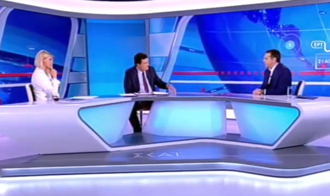 "LIVE: Αλέξης Τσίπρας στον ΣΚΑΙ - Με ένταση & ""διαξιφισμούς"" άρχισε η συζήτηση (βίντεο) - Κυρίως Φωτογραφία - Gallery - Video"