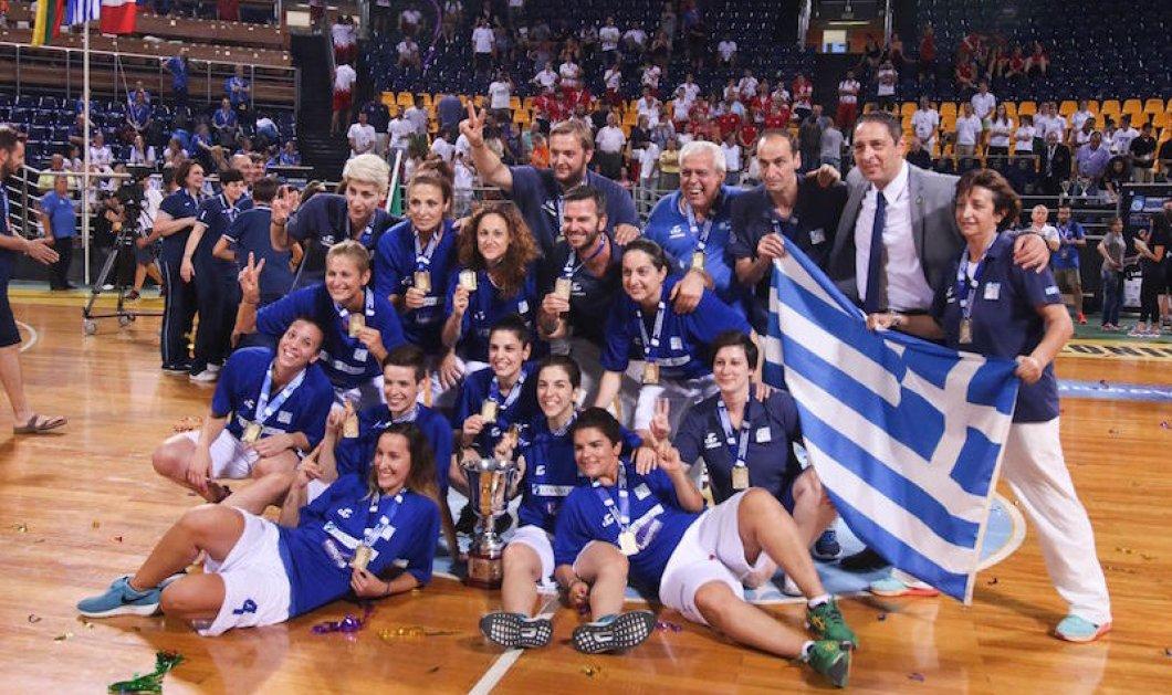 "Good News: ""Dream Team"" η εθνική κωφών γυναικών στο μπάσκετ -Στην κορυφή του κόσμου με χρυσό μετάλλιο! (φώτο) - Κυρίως Φωτογραφία - Gallery - Video"