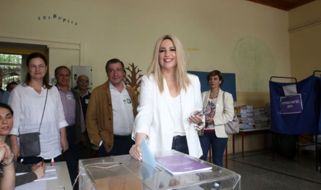 """Εθνικές εκλογές 2019: Ψήφισε η Φώφη Γεννηματά - """"Σήμερα η λογική επιστρέφει στον τόπο με την ψήφο των Ελλήνων πολιτών'' (βίντεο) - Κυρίως Φωτογραφία - Gallery - Video"""
