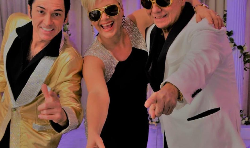Ο Γιώργος Τράγκας παντρεύτηκε για τρίτη φορά την ίδια γυναίκα στο Λας Βέγκας - Με παπά Έλβις και παρανυφάκι Αστερίξ (φωτό & βίντεο) - Κυρίως Φωτογραφία - Gallery - Video