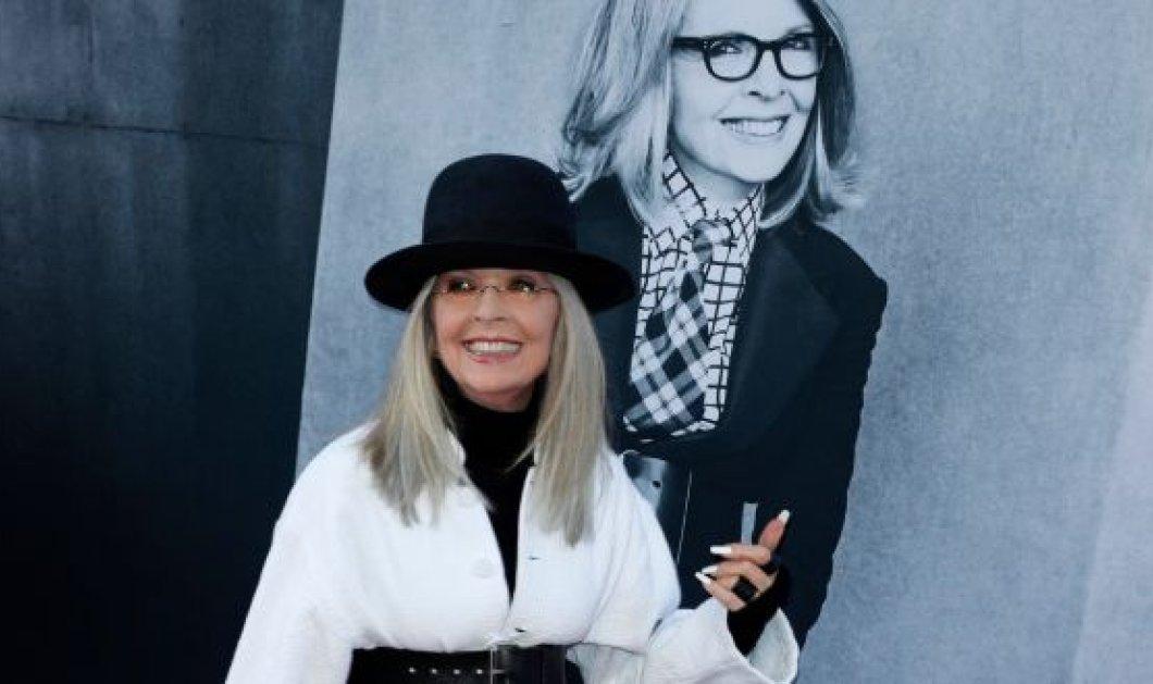 Η Ντάιαν Κίτον: Δεν έχω αγόρι εδώ και 35 χρόνια - Σταμάτησα τα ραντεβού στα 35 μου! (φωτό) - Κυρίως Φωτογραφία - Gallery - Video