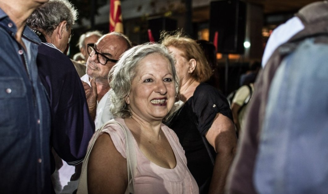Παραιτείται από βουλευτής  του ΚΚΕ η Ελένη Γερασιμίδου - Θέλει να δώσει την έδρα της στον Γκιόκα λόγω καλλιτεχνικών υποχρεώσεων - Κυρίως Φωτογραφία - Gallery - Video