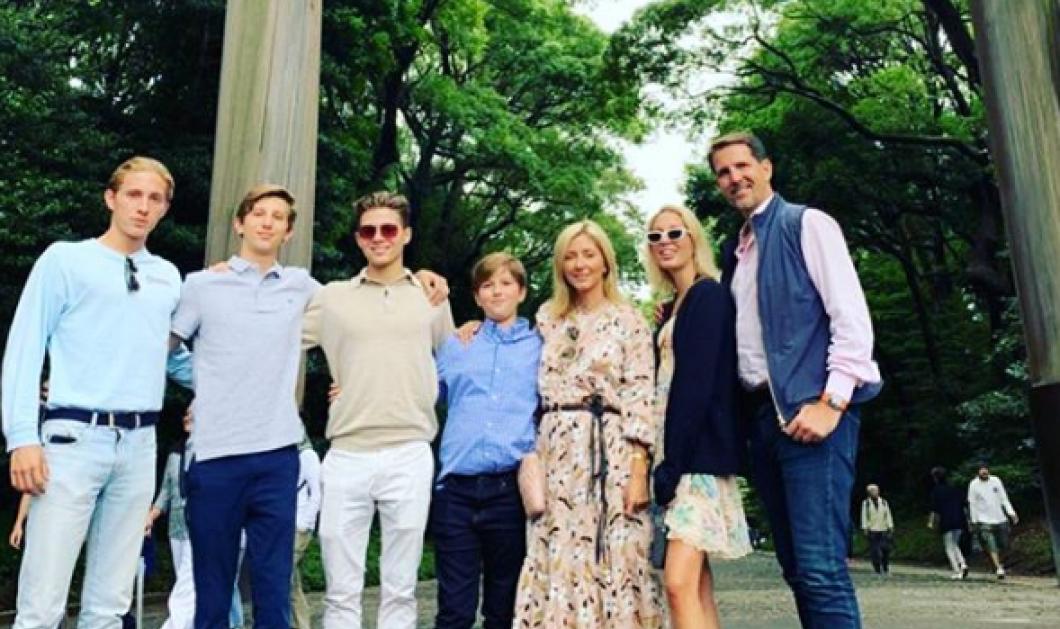 Στην Ιαπωνία οικογενειακώς ο πρίγκιπας Παύλος, η Μαρί Σαντάλ, ο Αχιλλέας, η Ολυμπία, ο Αλέξιος με γκέισες & ζεστό σάκε (φωτό) - Κυρίως Φωτογραφία - Gallery - Video