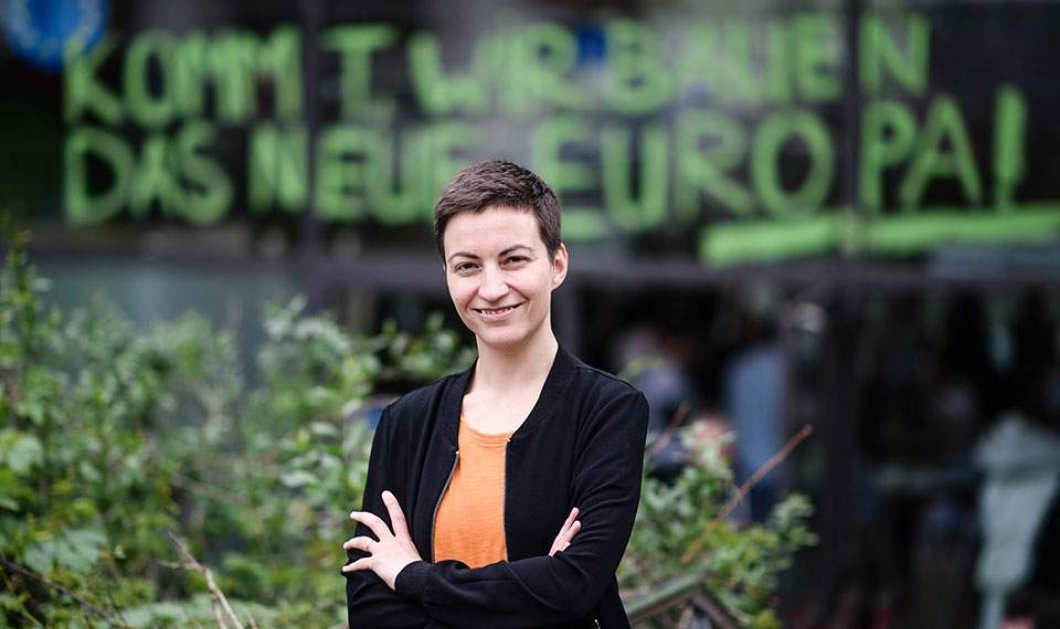Topwoman η Σκα Κέλερ – Θα είναι η Γερμανίδα, ηγέτης των Πρασίνων, Πρόεδρος της Ευρωπαϊκής Ένωσης;  - Κυρίως Φωτογραφία - Gallery - Video