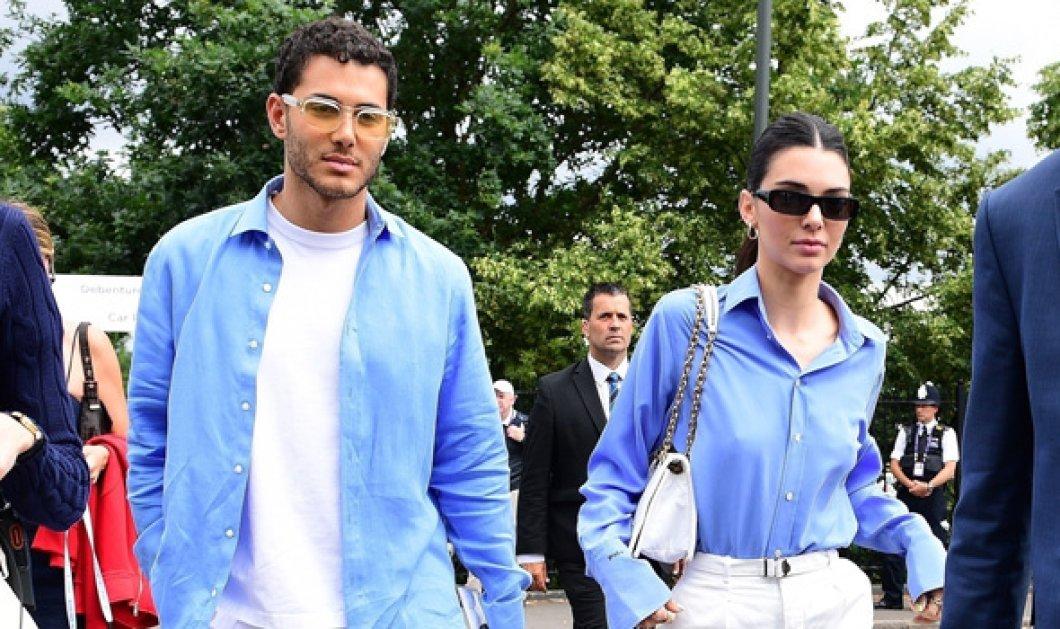 Ποιο είναι το ωραίο αγόρι δίπλα στη Kendall Jenner; Τους είδαμε στη Μύκονο & τώρα στο Γουίμπλεντον (φώτο)  - Κυρίως Φωτογραφία - Gallery - Video