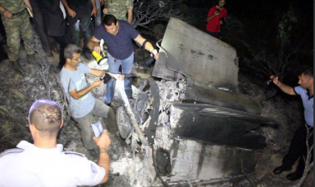 ''Θα θρηνούσαμε εκατοντάδες νεκρούς αν έπεφτε παρακάτω'' - Η συντριβή ογκώδους αντικειμένου στα Κατεχόμενα της Κύπρου (φωτό) - Κυρίως Φωτογραφία - Gallery - Video