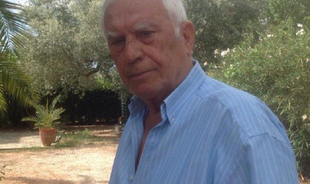 Νίκος Ξανθόπουλος στα 85 του: «Με συγκίνησαν οι γιατροί που με εξέτασαν, μου είπαν ότι με είχαν πρότυπο (φωτό) - Κυρίως Φωτογραφία - Gallery - Video