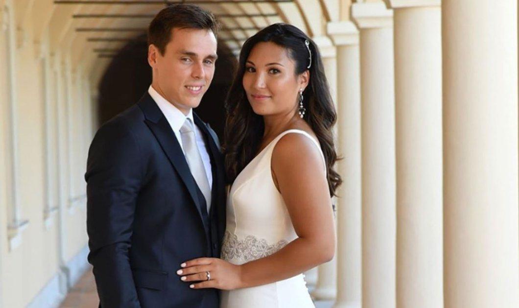 Γάμος στο πριγκιπάτο του Μονακό: Ο γιος της πριγκίπισσας Στεφανί, Λουί παντρεύτηκε την αγαπημένη του Marie (φώτο) - Κυρίως Φωτογραφία - Gallery - Video