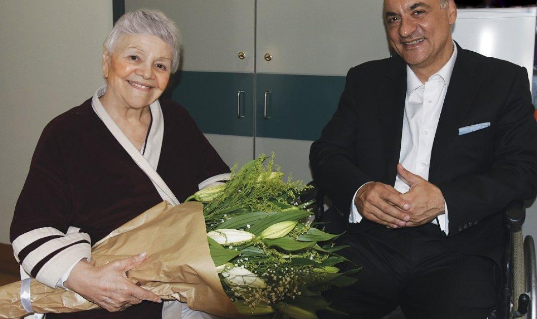 Όταν ο Μανώλης Κεφαλογιάννης συνάντησε τη Μαίρη Λίντα - Χαμόγελα , μνήμες & μουσική (φώτο) - Κυρίως Φωτογραφία - Gallery - Video