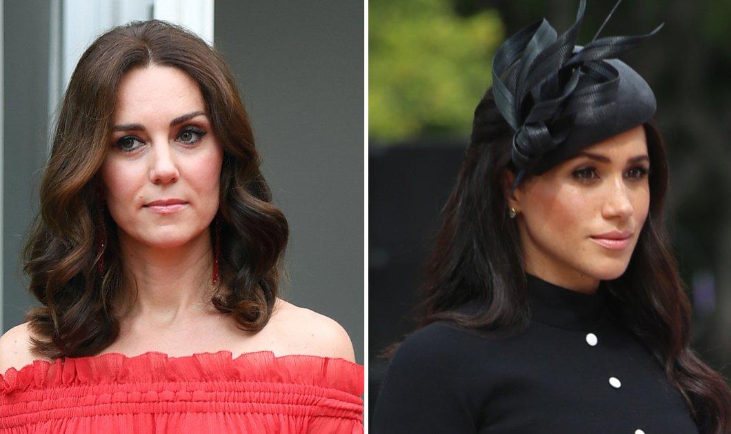 Θυμάστε τις δύο μουτρωμένες πριγκίπισσες στο Γουίμπλετον; Ξεχάστε όσα ξέρατε -Τι  έφερε κοντά τη Meghan Markle και Kate Middleton (εικόνες) - Κυρίως Φωτογραφία - Gallery - Video