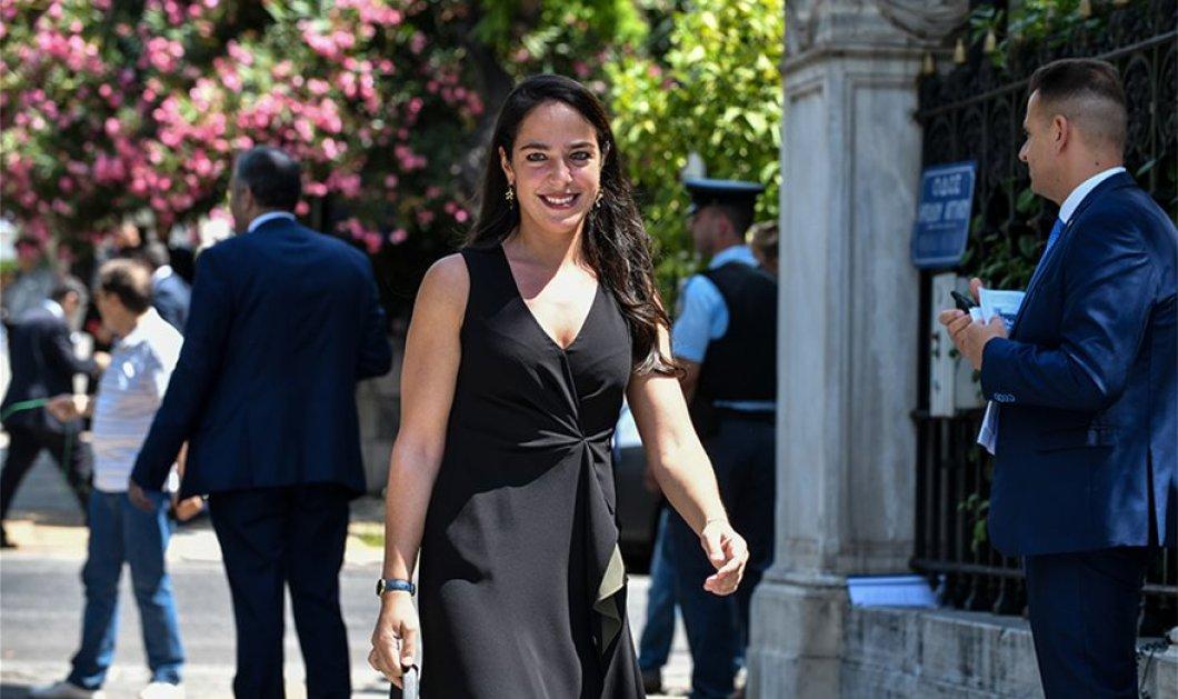 """Πως ντύθηκαν οι γυναίκες υπουργοί & υφυπουργοί - Οι κομψές εμφανίσεις που """"έκλεψαν"""" τα φλας (φώτο) - Κυρίως Φωτογραφία - Gallery - Video"""