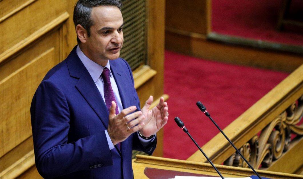 """Κυρ. Μητσοτάκης - """"Η πρώτη """"ασυνέπεια"""" της κυβέρνησης μας: Μειώνουμε τον ΕΝΦΙΑ  αμέσως"""" - Τα 10 πρώτα νομοσχέδια της κυβέρνησης (βίντεο) - Κυρίως Φωτογραφία - Gallery - Video"""