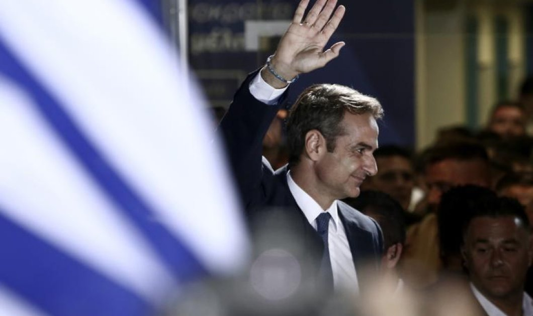Eθνικές εκλογές 2019: H νέα αυτoδύναμη κυβέρνηση του Κυρ. Μητσοτάκη - Όλες οι λεπτομέρειες  - Κυρίως Φωτογραφία - Gallery - Video
