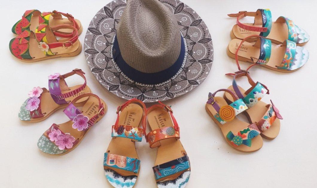 Αποκλειστικό – Made in Greece η Nadeen Art: Τα «αγγελικά» φτιαγμένα παπούτσια & οι τσάντες της Δήμητρας Ψυχογυιού ζωγραφίζονται στο χέρι στο εργαστήρι της στην Ακρόπολη - Κυρίως Φωτογραφία - Gallery - Video